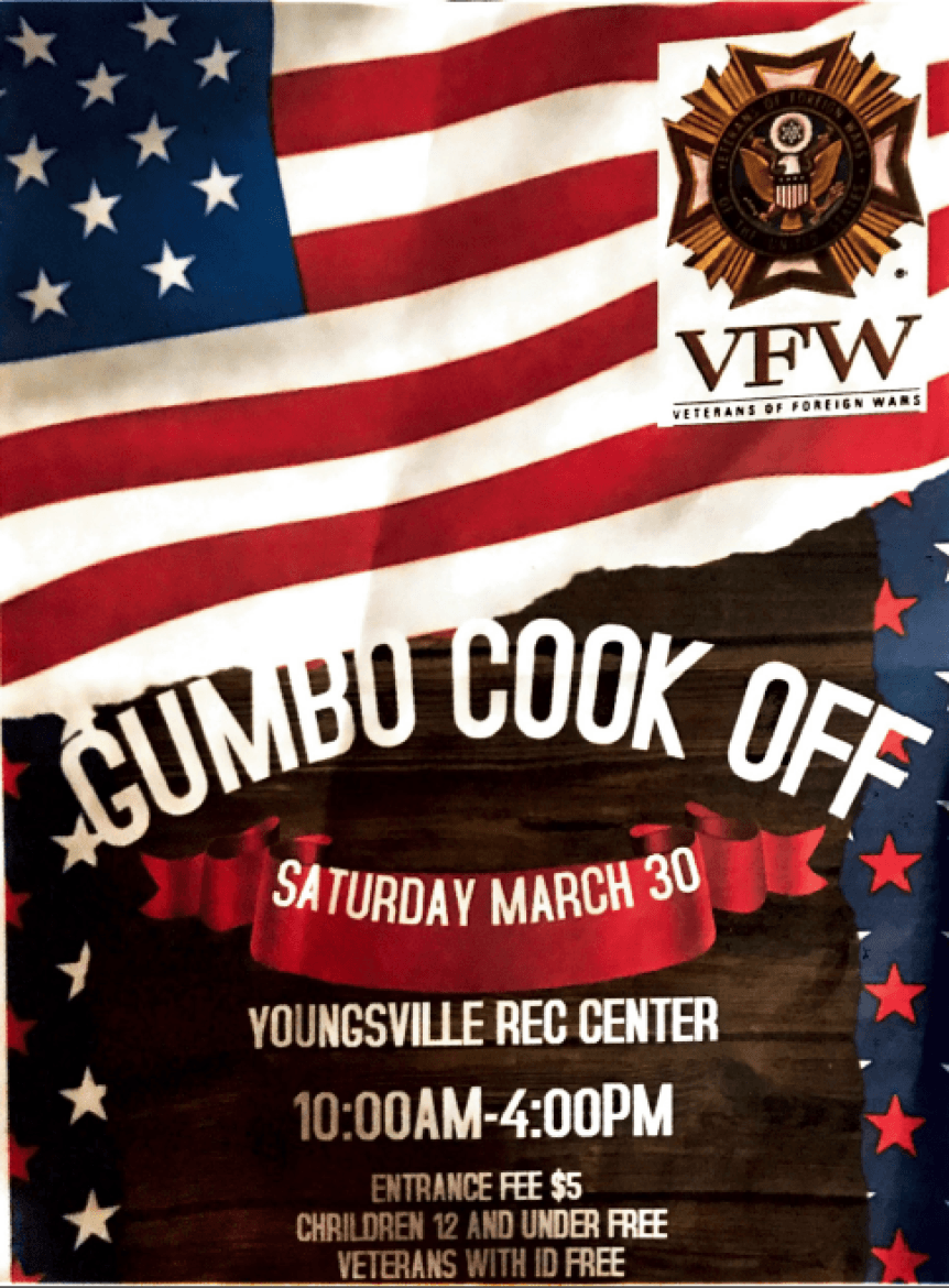 VFW Gumbo Cookoff @ Youngsville Sports Complex | Youngsville | Louisiana | United States