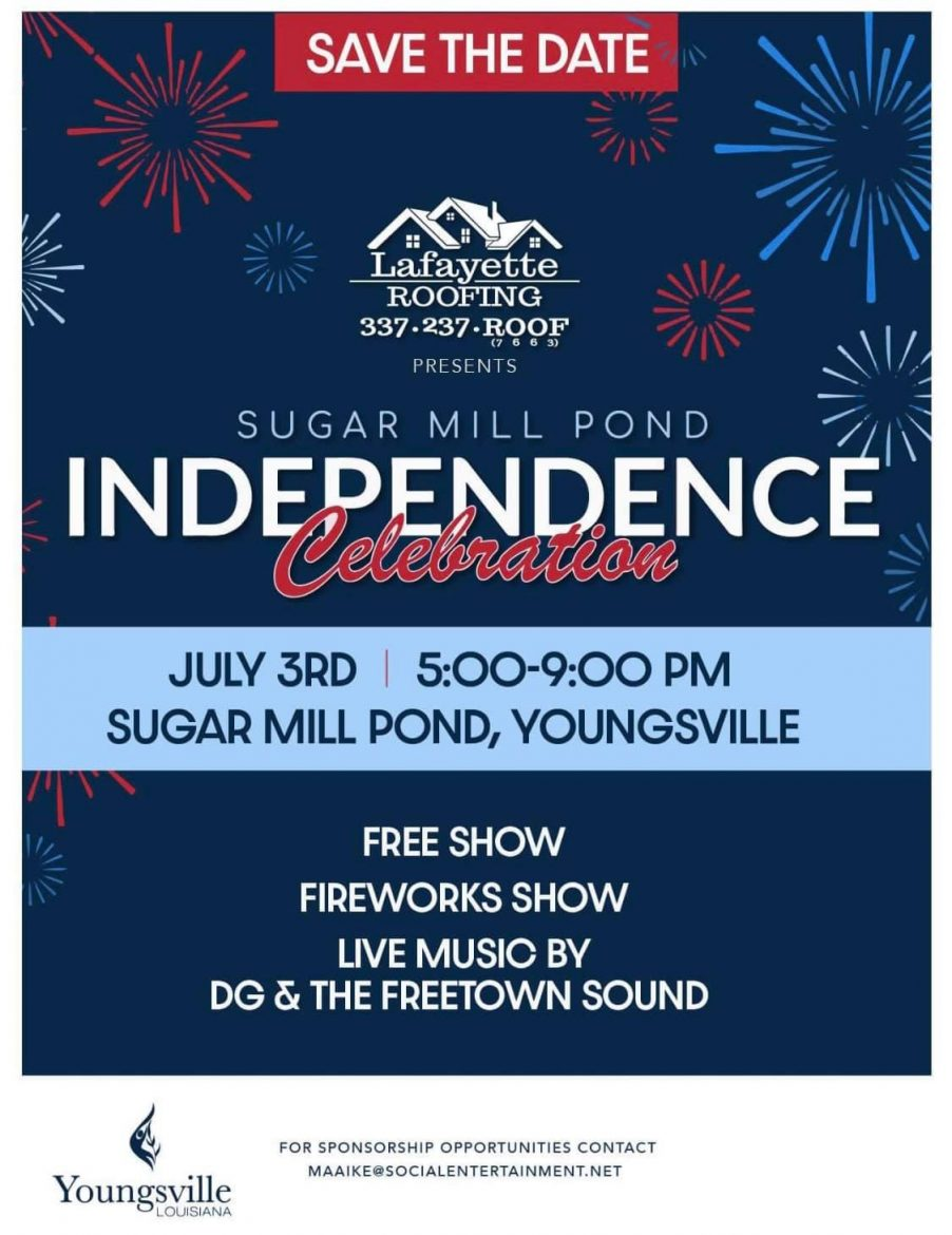 Independence Day Celebration @ Sugar Mill Pond | Youngsville | Louisiana | United States